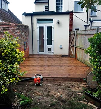 Decking in Beccles