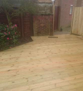Bespoke Decking in Heartsease