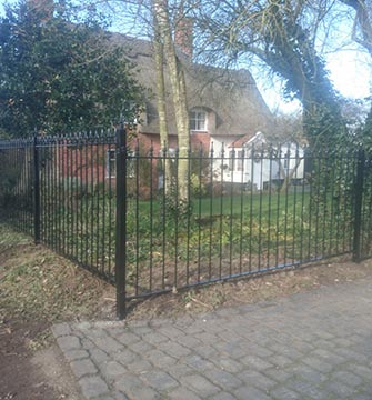 Three Fence Installation - Norton
