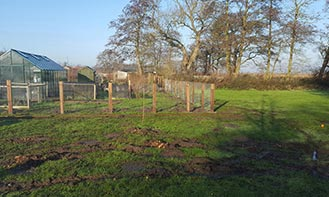 Three Fence Installation - Norton Subcourse Case Study