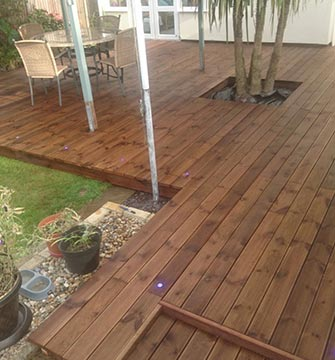 Decking Installation - Spixworth