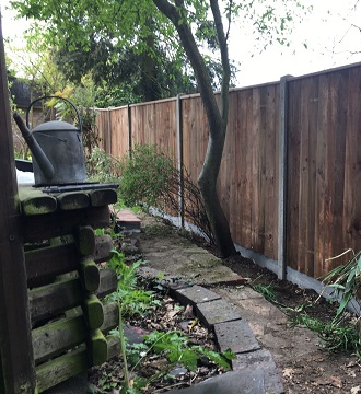 Close Board Fencing in Worlingham