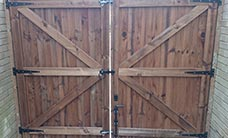 Double Timber Gate
